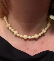 Bjelokost (slonovača) ogrlica