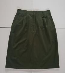 Pamućna zelena suknja br.38-40