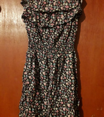 Lagana cvjetna haljina sa volanima