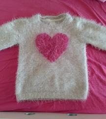 džemper čupavi mucasti Palomino