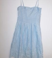 Plava orsay haljina