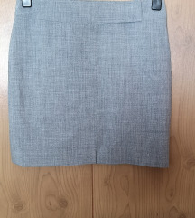 HIRSCH Siva poslovna suknja