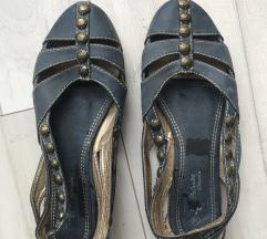 Plave ženske sandale 38