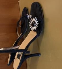 Kožne svečane sandale