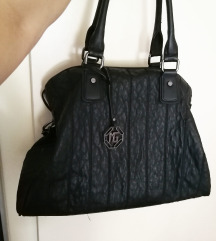 Crna velika torba Marina Galanti