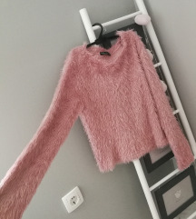 Bershka roza mekani pulover, 55 kn do petka 20.9.!