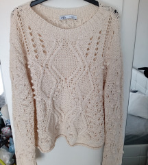 Novi Zara koncani pulover