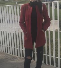 Zara tvid crveni sako/kaput