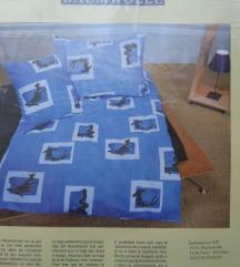Nova posteljina 200/210 + 2x65/100