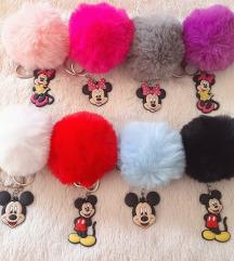 Mickey&Minnie privjesci (besplatna PT)
