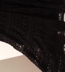 Zara cipkasta haljina m
