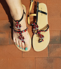 Sandale Sa Cirkonima - 42