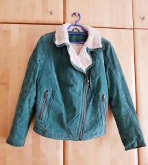 Kožna biker jakna L/XL