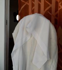 Bijeli svečani šal 130x28cm