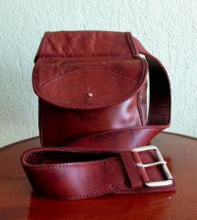 Vintage muška torbica i remen