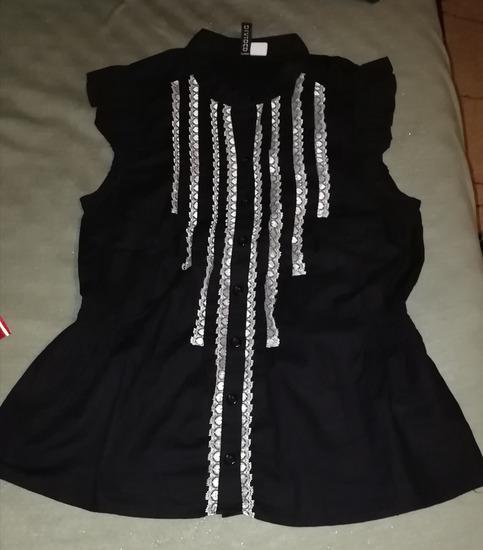 Crna kosuljica bez rukava H&M vel S