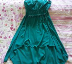 Nova kratka zelena haljina