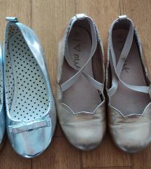 Dvoje cipelice 28 (zlatne kozne)