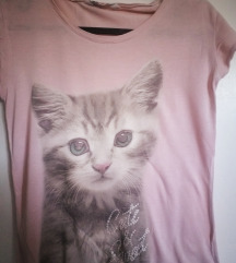 H&m majica s mackom