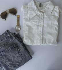 LOT - Asos košulja i sive traperice