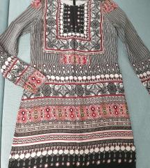 Vero moda haljina/tunika  u boho stilu