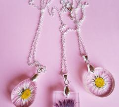 AKCIJA!! Unikatne cvjetne ogrlice