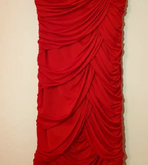 Crrvena haljina % sniženo