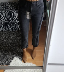 NOVE sive MANGO hlače s ETIKETOM
