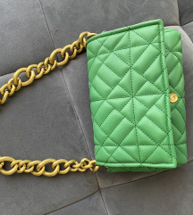 Zara zelena torbica