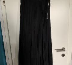 Zara duga crna suknja (M)