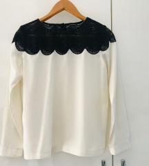 Club Monaco crno bijela bluza M