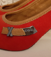 AKCIJA%% S.Oliver crvene cipele, br.37