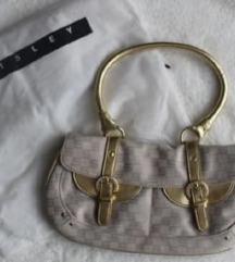 (NOVO) Original SISLEY nude/zlatna torba