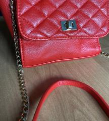 Crvena torbica preko ramena AKCIJA