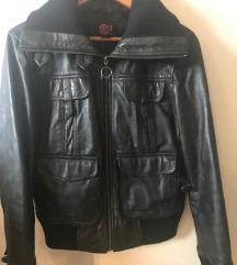 MANGO - kožna jakna br.40