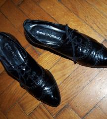 Crne kožne cipele - prava koža!