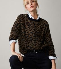 Massimo Dutti leopard vesta