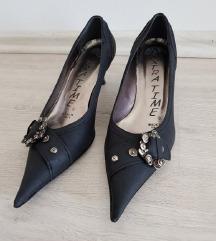 Ženske cipele, crne, broj 35, 22cm