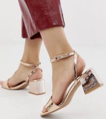 Asos zlatne sandale