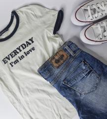 LOT - majica i kratke traper hlače