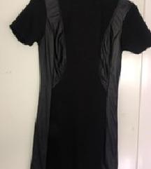 Crna uska Silvian hech haljina