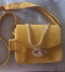 Senf žuta torbica