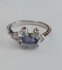 Prsten srebro 925,novo