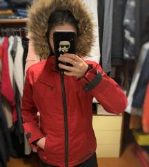 Skijaška jakna pravo krzno