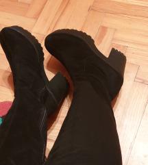Gossip visoke chunky čizme iznad koljena