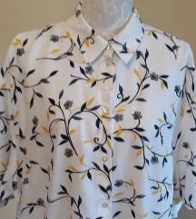 sniž.Vintage cvjetna oversize košulja