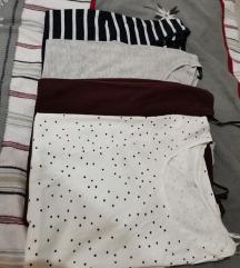 H&M trudničke majice lot