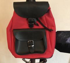 NOVO ženski crveni ruksak