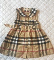 Burberry orginal dječja haljina
