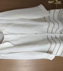 Marina Rinaldi bijela lanena tunika vel. 48